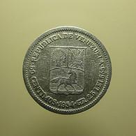 Venezuela 50 Centimos 1954 Silver - Venezuela