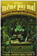 EDITIONS MEME PAS MAL - La Petite Boutique Des Horreurs - HIPPOPOTAME, GORE, HUMOUR - CPM TBon Etat (voir Scan) - Bandes Dessinées