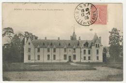 35 - Rennes - Château De La Prévalaye  -  Façade Postérieure - Rennes