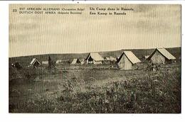 CPA - Carte Postale - Est Africain Allemand-Un Camp Dans Le Ruanda    VM16314 - Rwanda