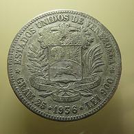 Venezuela 5 Bolivares 1936 Silver - Venezuela