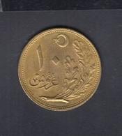 Türkei Turkey 10 Kurus 1341 - Türkei