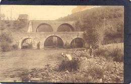 2 X TROIS-PONTS -Pont Sur L'Amblève EtHenri Moulin Et Promenade Du Pouhon - Trois-Ponts