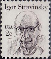 USA 1979. Igor Stravinsky. Michel 1612, MNH 27252 - Musique