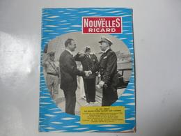 ORGANE INTERIEUR - LES NOUVELLES RICARD 1963 - Cultura