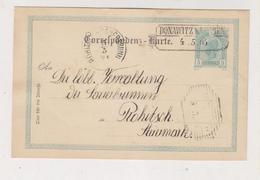 AUSTRIA,1904 DONAWITZ Bei LEOBEN,  Postal Stationery - 1850-1918 Impero