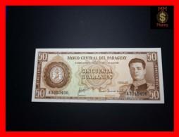 PARAGUAY 50 Guaranies 1963 P. 197 A   UNC - Paraguay