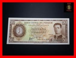 PARAGUAY 50 Guaranies 1963 P. 197 B  UNC - Paraguay