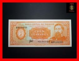 PARAGUAY 100 Guaranies 1963 P. 199 B  UNC - Paraguay