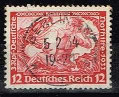 DR 1933,Michel# 504 A O - Oblitérés