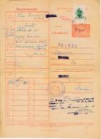 Passeport D'animaux 1943 – Cheval – Description, âge Et Propriété - Revenue Stamps