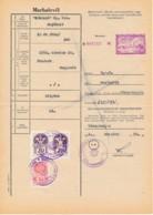 Passeport D'animaux 1971 – Vaches – Description, âge Et Propriété - Revenue Stamps