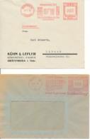 Allemagne – 2 EMA 1935 & 1942 – Meubles De Bureaux Mécaniques - Germany