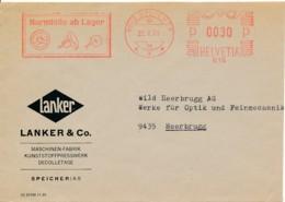 Suisse EMA 1970 – Lanker & C° Décolletage – Industrie Plastique Et +++ - Fábricas Y Industrias