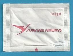 Suikerzakje.- SURINAM AIRWAYS. Suiker Sucre Zucchero Zucker Sugar - Sugars