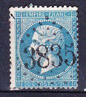France-Yv 22, GC 3835 St Reverien (56) - Marcophilie (Timbres Détachés)