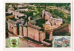 Carte Maximum 1971 - Château Fort De Sedan - YT 1686 - 08 Sedan - 1970-79