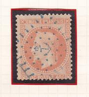 France - Y&T 31 Oblitéré Losange Ancre Bleue - Poste Maritime - Marcophilie (Timbres Détachés)
