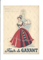 Protége Cahier Fleur De GAYANT Farine Recettes TB 235 X 185 Mm TB 3 Scans - Protège-cahiers