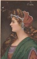 Beau Profil De Dame!..    Scan - Vrouwen