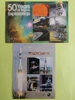Blocs 50 Ans D'exploration De L'espace - Space