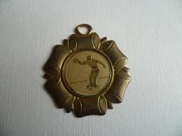 Médaille Sport Pétanque - Bocce