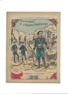 Couverture De Cahier CHASSEURS ALPINS Armée Française Uniformes 225 X 170 Mm TB 3 Scans - Protège-cahiers