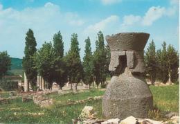 1329 LUGAGNANO VAL D'ARDA - VELLAIA - VELEJA ROMANA - SCAVI ARCHEOLOGICI - VIAGGIATA 1986 - Altre Città
