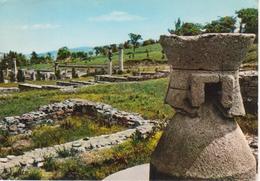 1330 LUGAGNANO VAL D'ARDA - VELLAIA - VELEJA ROMANA - LA MACINA DEI CEREALI - VIAGGIATA 1969 - Autres Villes