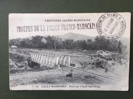 MAROC - FM Troupes De La Police Franco-Marocaine-régiment De Spahis-Le Capitaine Commandant - Maroc (1956-...)