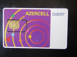 SIM    GSM     AZERCELL OLD    AZERBADJIAN     MINT - Azerbeidzjan