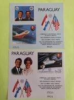 Bloc Du Paraguay 1981 Espace +navette - Space