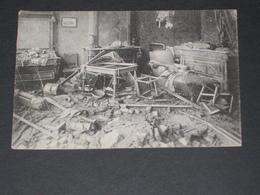 MECHELEN - Beschieting Huis A. Spruyt 1914 IJzerenleen - Uitg. Steemans Zie Geschreven Tekst Achter Door Arthur Spruyt ! - Malines