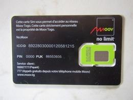 SIM   GSM     MOOV    TOGO   MINT - Togo