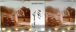 CARANTEC VILLA FINISTERE 1916 BRETAGNE PLAQUE DE VERRE PHOTOGRAPHIE STEREOSCOPIQUE VERASCOPE RICHARD - Carantec
