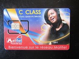 SIM   GSM     MALITEL    MALI   MINT - Mali
