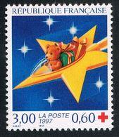 FRANCE : N° 3122 ** (Croix Rouge) - PRIX FIXE : 1/3 De La Cote - - Unused Stamps