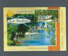 33 Camping Le Tedey Lacanau Neuve TBE - Francia