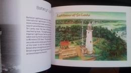 SRI LANKA , 2018, MNH, LIGHTHOUSES,BOOKLET WITH 4 PANES, THAILAND EXHIBITION - Fari