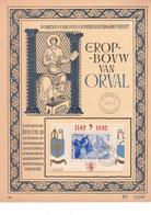 Carte Souvenir Bloc 18  Orval - Cartes-maximum (CM)