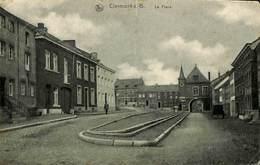026 825 - CPSM - Belgique - Clermont-s-B. - La Place - Walcourt