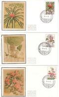 FDC Soie - Silk - N°  1749-51 Gent - 25/04/1975 - FDC