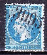 France-Yv 22, GC 3995 Tourny (26) - 1849-1876: Période Classique