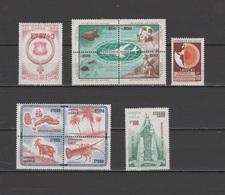 Chile 1974 Michel 811-821 Copper Mines, Aviation Airplanes, Volcanoes, Virgin Del Carmen, Juan-Fernandes-Ar. 11 St. MNH - Chile