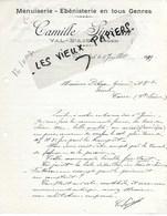 88 - Vosges - VAL-D'AJOL - Facture SIMONIN - Menuiserie, ébénisterie - 1939 - REF 149B - France