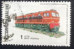Thailand -(o)used - Ref 12 - 1977 - Spoorwegen - Thailand