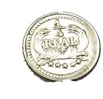 1/4 De Réal - Guatemala - Argent 835/..  - 1890 - TTB - Guatemala