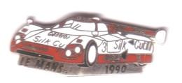 L99 Pin's LE MANS 90 NIELSEN COBB BRUNDLE JAGUAR XJR La Voiture EGF Pub Castrol Achat Immédiat - Jaguar