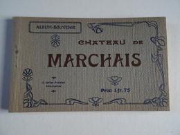 CPA 02 Album Souvenir CHATEAU DE MARCHAIS 12 CPA Semi-bromure A. Berger Frères  TBE - Frankrijk