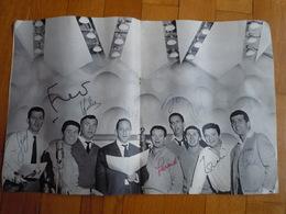 Autographe. Programme Dédicacé LES COMPAGNONS DE LA CHANSON - Autographs